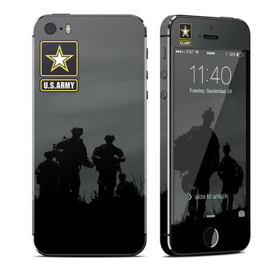 Apple iPhone 5S Skin - Night Action