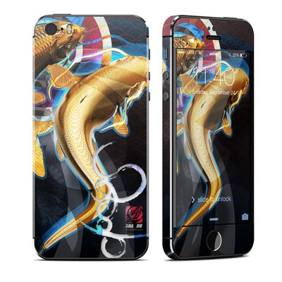 Apple iPhone 5S Skin - Namazu and Koi