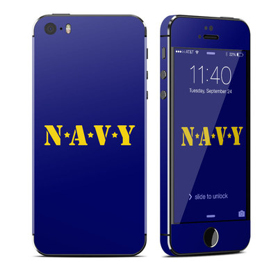 Apple iPhone 5S Skin - Navy