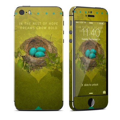 Apple iPhone 5S Skin - Nest of Hope