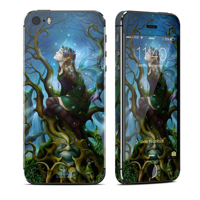 Apple iPhone 5S Skin - Nightshade Fairy