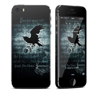 Apple iPhone 5S Skin - Nevermore