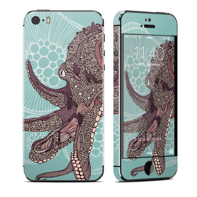 Apple iPhone 5S Skin - Octopus Bloom