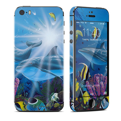 Apple iPhone 5S Skin - Ocean Friends