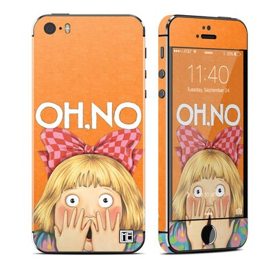 Apple iPhone 5S Skin - Oh No