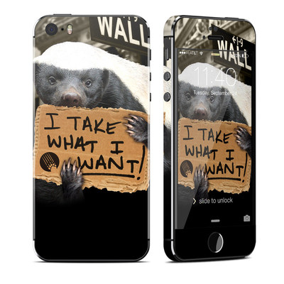 Apple iPhone 5S Skin - One Percent
