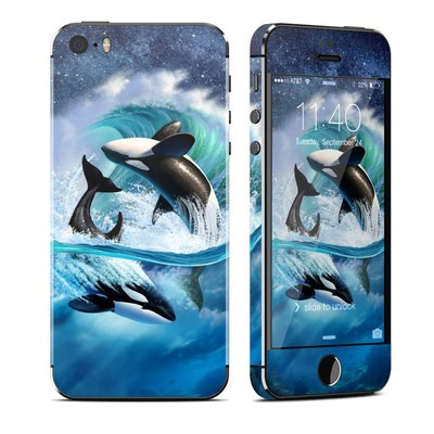 Apple iPhone 5S Skin - Orca Wave