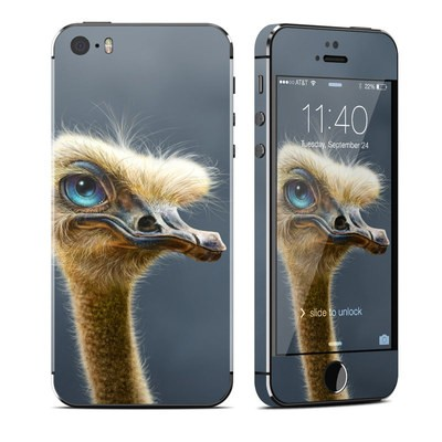 Apple iPhone 5S Skin - Ostrich Totem