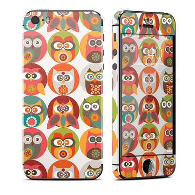 Apple iPhone 5S Skin - Owls Family
