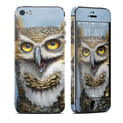 Apple iPhone 5S Skin - Owl Totem