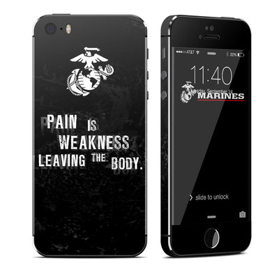 Apple iPhone 5S Skin - Pain