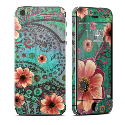 Apple iPhone 5S Skin - Paisley Paradise