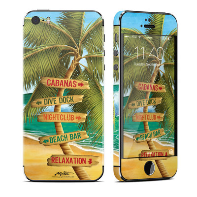 Apple iPhone 5S Skin - Palm Signs