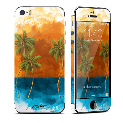 Apple iPhone 5S Skin - Palm Trio
