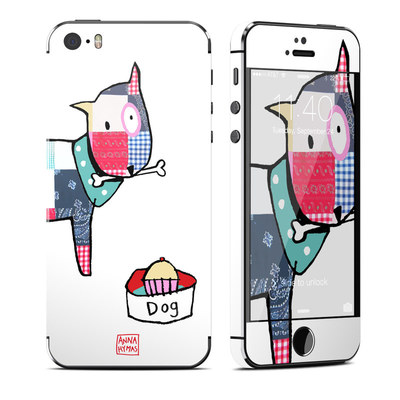 Apple iPhone 5S Skin - Patch Dog