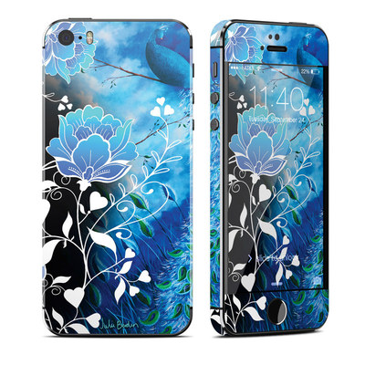 Apple iPhone 5S Skin - Peacock Sky