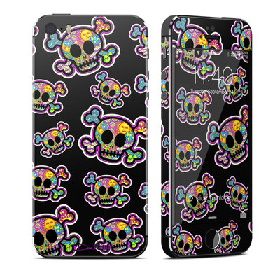 Apple iPhone 5S Skin - Peace Skulls
