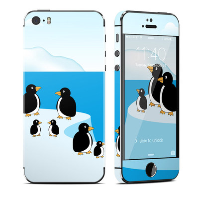 Apple iPhone 5S Skin - Penguins