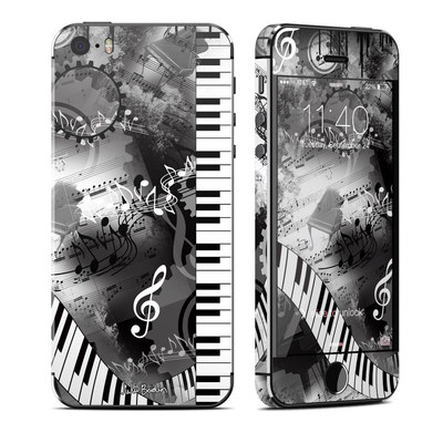 Apple iPhone 5S Skin - Piano Pizazz