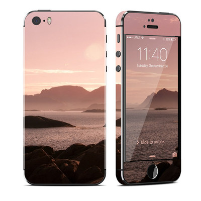 Apple iPhone 5S Skin - Pink Sea