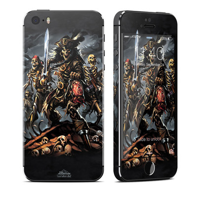 Apple iPhone 5S Skin - Pirates Curse