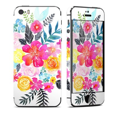 Apple iPhone 5S Skin - Pink Bouquet