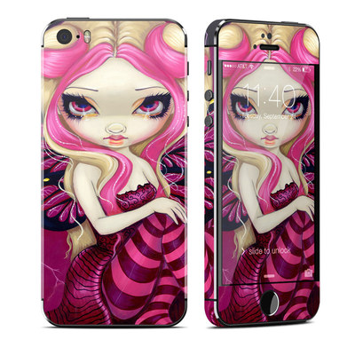 Apple iPhone 5S Skin - Pink Lightning