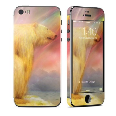 Apple iPhone 5S Skin - Polar Bear