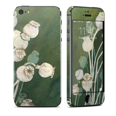 Apple iPhone 5S Skin - Poppy Pods