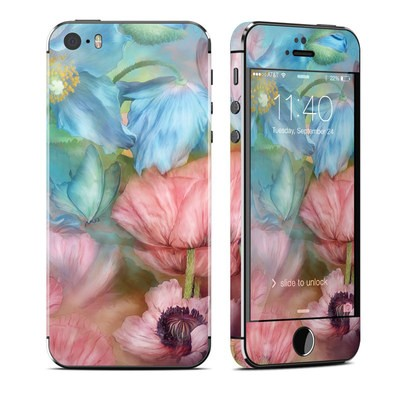 Apple iPhone 5S Skin - Poppy Garden