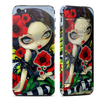 Apple iPhone 5S Skin - Poppy Magic
