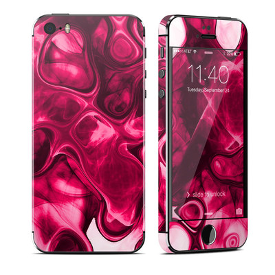 Apple iPhone 5S Skin - Pink Splatter
