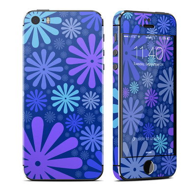 Apple iPhone 5S Skin - Indigo Punch