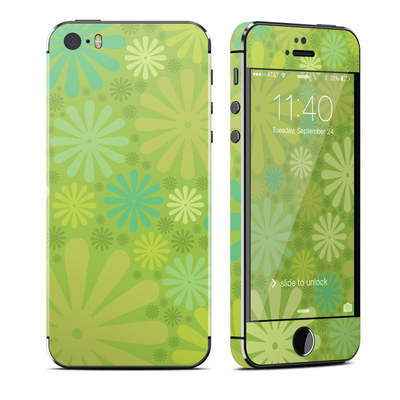 Apple iPhone 5S Skin - Lime Punch