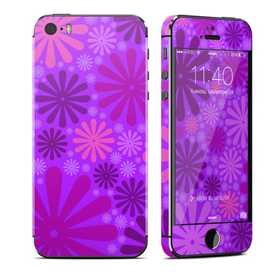 Apple iPhone 5S Skin - Purple Punch
