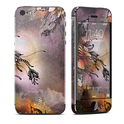 Apple iPhone 5S Skin - Purple Rain
