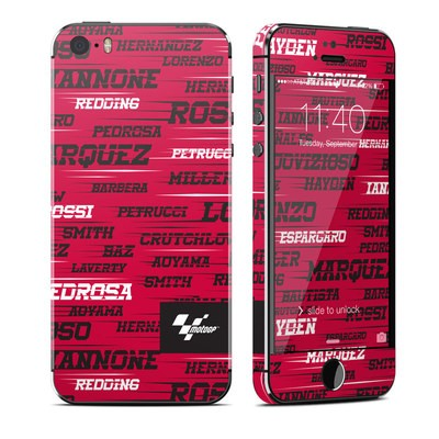 Apple iPhone 5S Skin - Racers