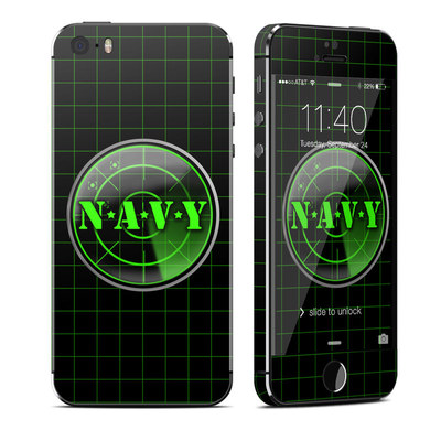Apple iPhone 5S Skin - Radar