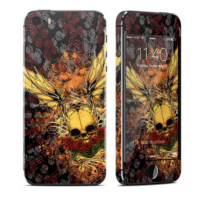 Apple iPhone 5S Skin - Radiant Skull