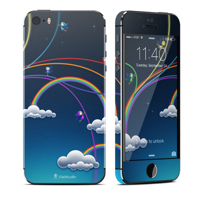 Apple iPhone 5S Skin - Rainbows