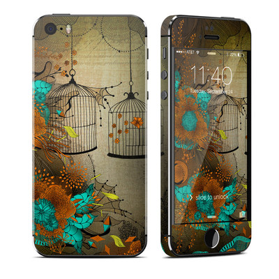 Apple iPhone 5S Skin - Rusty Lace