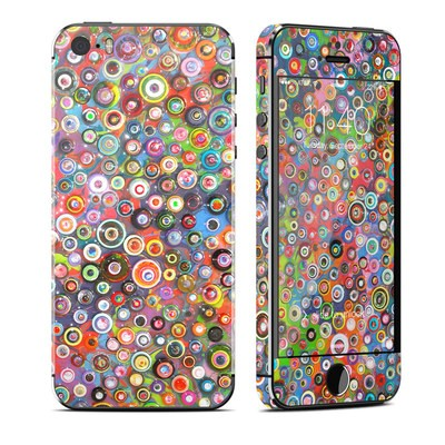 Apple iPhone 5S Skin - Round and Round