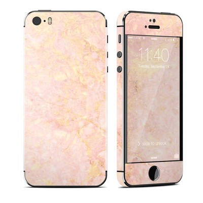 Apple iPhone 5S Skin - Rose Gold Marble