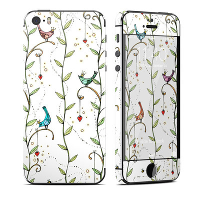 Apple iPhone 5S Skin - Royal Birds