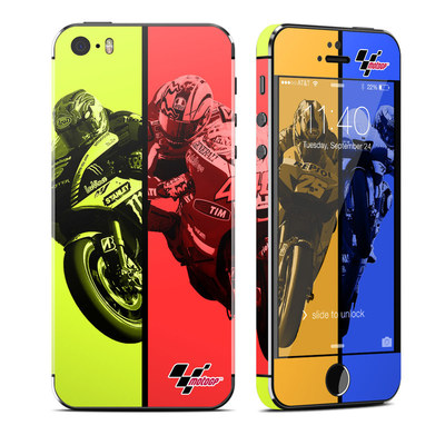 Apple iPhone 5S Skin - Race Panels