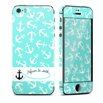 Apple iPhone 5S Skin - Refuse to Sink