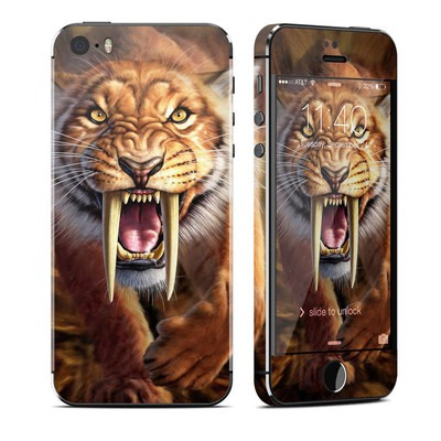 Apple iPhone 5S Skin - Sabertooth