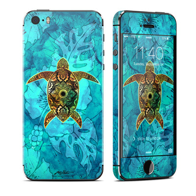 Apple iPhone 5S Skin - Sacred Honu