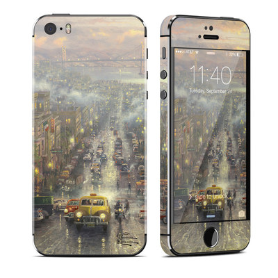 Apple iPhone 5S Skin - Heart of San Francisco