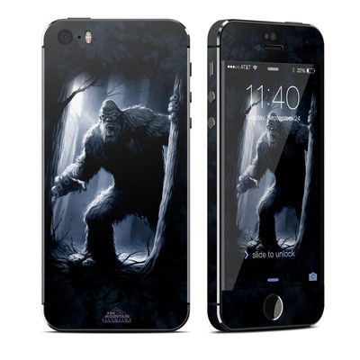 Apple iPhone 5S Skin - Sasquatch